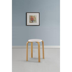 4-tlg. Sitzhocker-Set