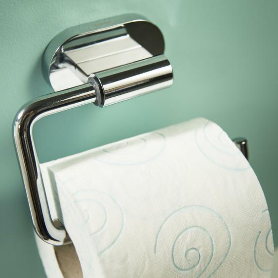 4-tlg. wandmontiertes Toilettenbürsten-Set Luca