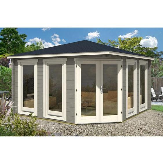 400 cm x 400 cm Gartenhaus Maja