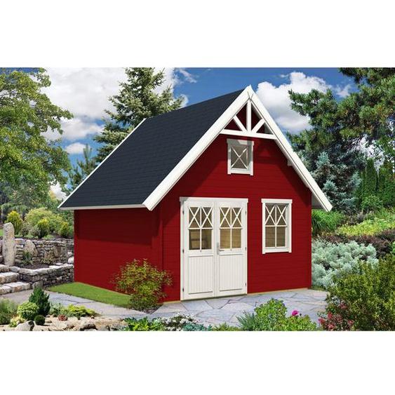418 cm x 418 cm Gartenhaus