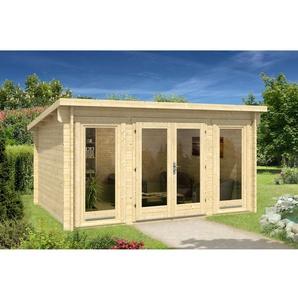 420 cm x 320 cm Gartenhaus Atrium