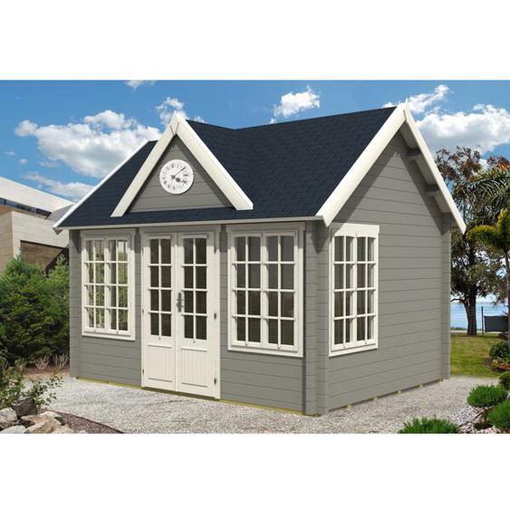 420 cm x 320 cm Gartenhaus Clockhouse Royal