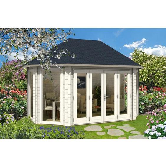 462 cm x 312 cm Gartenhaus Borneo
