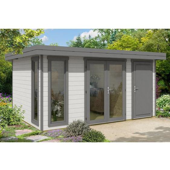 496 cm x 368 cm Gartenhaus Aldo