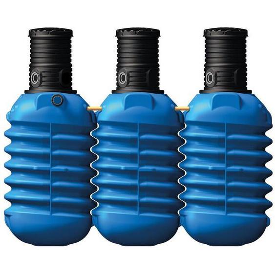4rain Erdtank »MODULARIS«, für Regenwasser, 7500 Liter Volumen, inklusive PE-Deckel