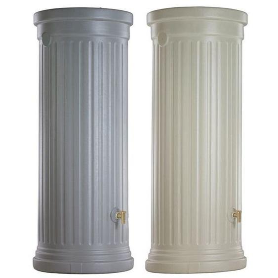 4rain Komplett Set »SÄULE«, inklusive Säulentank mit 300 oder 500 Liter und Füllautomat