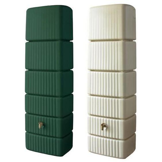 4rain Wandtank »SLIM«, 300 Liter Volumen, inklusive Auslaufhahn und Windsicherung