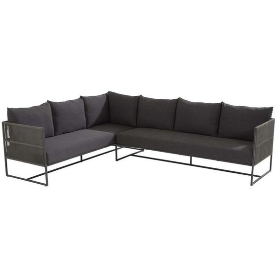 4Seasons Chill Platinum Loungeset 3-Sitzer Sofas inkl. Kissen