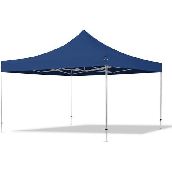 4x4 m Faltpavillon PROFESSIONAL Alu 40mm, blau