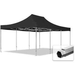 4x6 m Faltpavillon PROFESSIONAL Alu 40 mm, schwarz