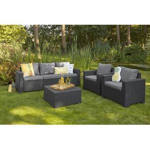 5-Sitzer Lounge-Set Jiles mit Polster