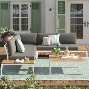 5-Sitzer Lounge-Set Kirch mit Polster