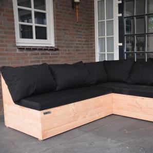 5-Sitzer Lounge-Set Murry mit Polster