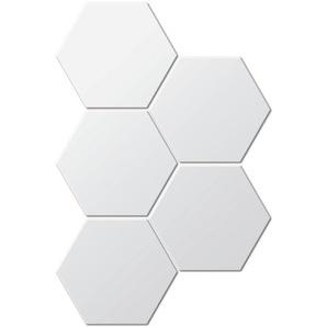 5-tlg. Wandspiegel-Set