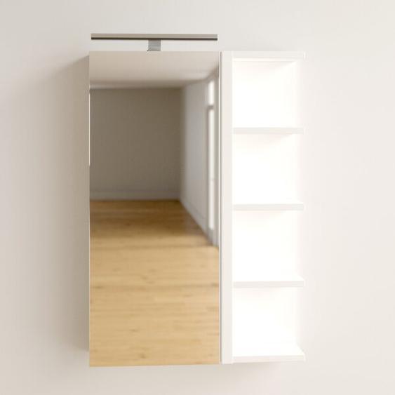 50 cm x 76 cm Spiegelschrank Thurman