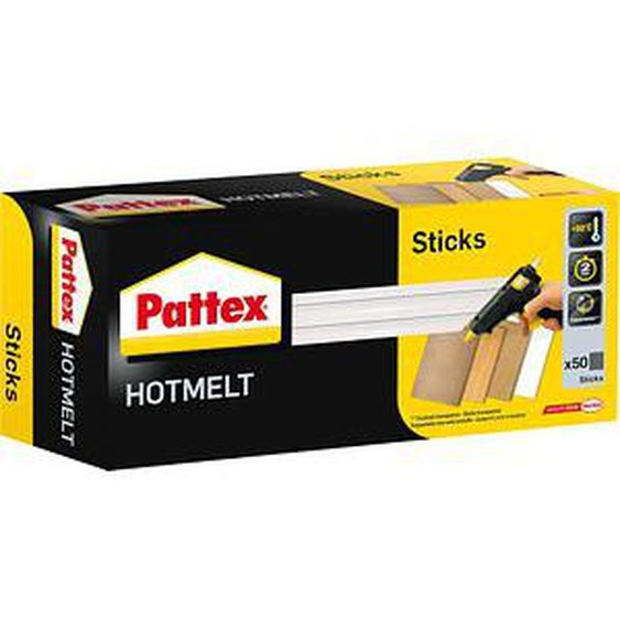 50 Pattex Heißklebesticks HOTMELT