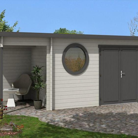 550 cm x 250 cmGartenhaus Maria Rondo