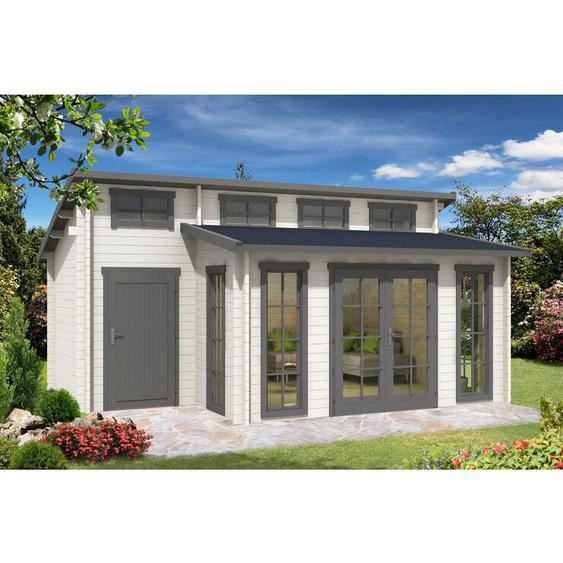570 cm x 420 cm Gartenhaus Lausitz