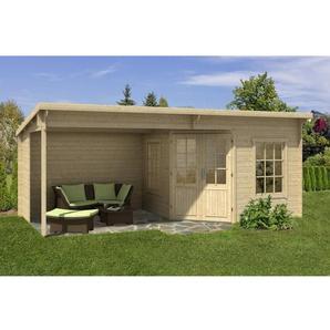 598 cm x300 cm Gartenhaus Carl