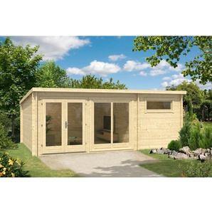 598 cm x 400 cm Gartenhaus Atrium