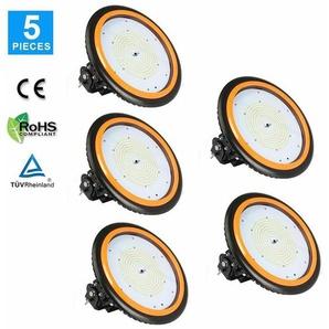5er Anten LED High Bay Licht 26000lm 200W Neutralweiß(3750-4250K) LED Hallenleuchte/LED SMD Hallenstrahler Dank Schutzart IP65 sowohl für den Innen- als auch Aussenbereich