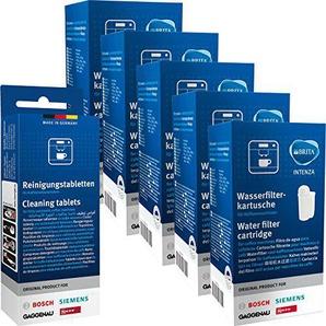 5x Bosch Siemens 17000705 Brita Intenza & 1x Bosch Siemens 00311940 Reinigungstabletten