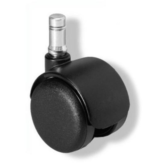 5x ROLO FIX 10mm/50mm - Stuhlrollen Schwarz