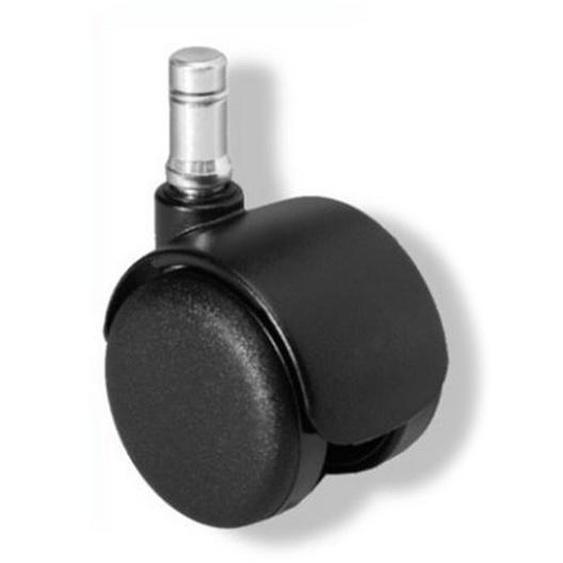 5x ROLO FIX 11mm/50mm - Stuhlrollen Schwarz