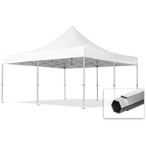 5x5 m Faltpavillon PROFESSIONAL Alu 50 mm, weiß