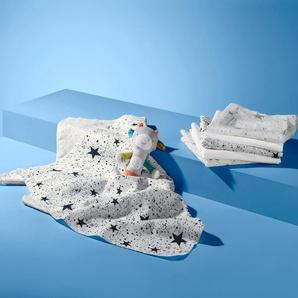 6 Mullwindeln - weiß - 100% Baumwolle -