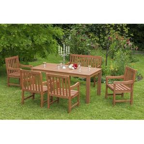 6-Sitzer Gartengarnitur Bergamot