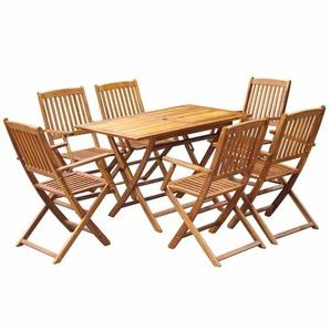 6-Sitzer Gartengarnitur Calley