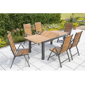 6-Sitzer Gartengarnitur Colvard