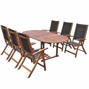 6-Sitzer Gartengarnitur Hartman