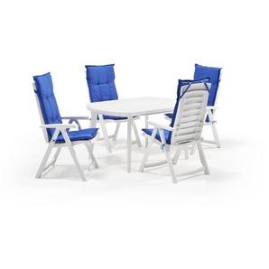6-Sitzer Gartengarnitur Jarrard mit Polster
