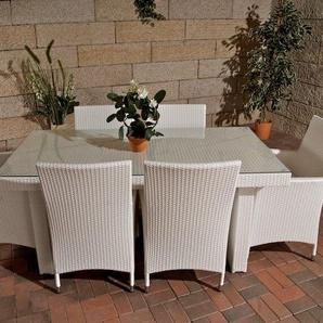 6-Sitzer Gartengarnitur Avignon mit Polster