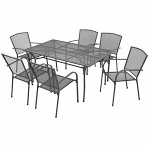 6-Sitzer Gartengarnitur Bacup
