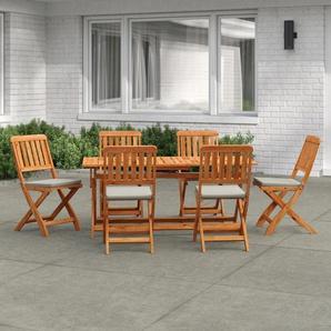6-Sitzer Gartengarnitur Neve