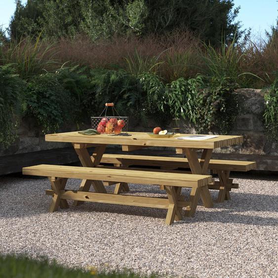 6-Sitzer Gartengarnitur Romford