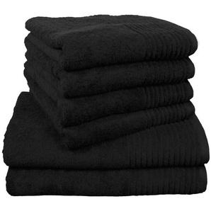 6-tlg. Handtuch-Set Brillant