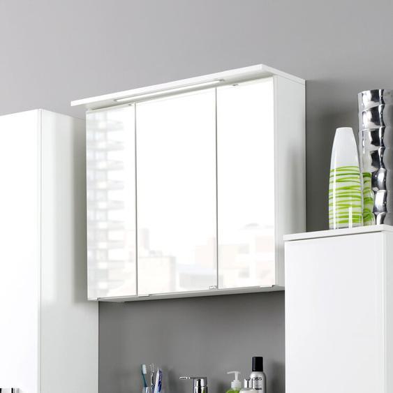 60 cm x 64 cm Spiegelschrank Dessie mit LED Beleuchtung