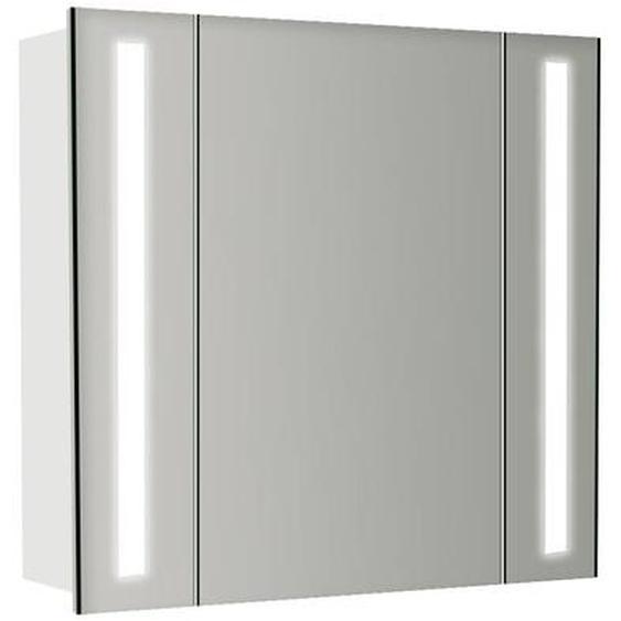 60 cm x 64 cm Spiegelschrank Meadow mit LED Beleuchtung