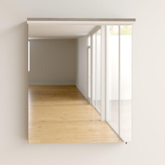 60 cm x 70,8 cm Spiegelschrank Mccaskill mit Beleuchtung