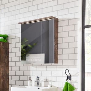 60 cm x 72.5 cm Spiegelschrank Albury mit Beleuchtung