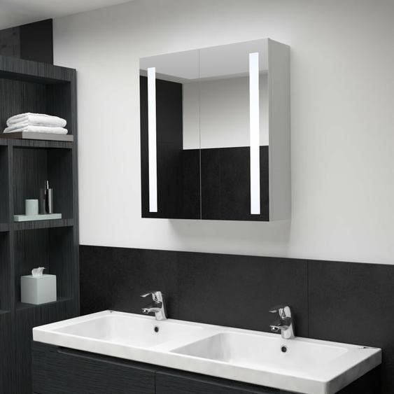 62 cm x 60 cm Spiegelschrank Stackhouse mit LED Beleuchtung