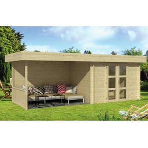 640 cm x 240 cm Gartenhaus Lancaster