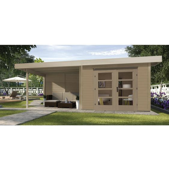 645 cm x 314 cm Gartenhaus