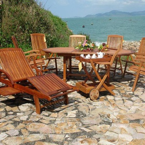 7-Sitzer Gartengarnitur Sun Flair