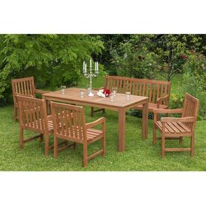 7-Sitzer Gartengarnitur Bergamot