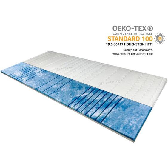 7-Zonen Deluxe Gelschaum-Topper 100x200 cm - 8 cm H�he